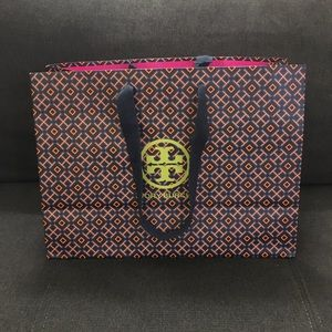 Tory Burch md and lg size bags and 1 dust bag